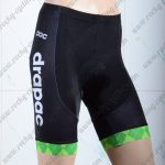 2018 Team EF drapac cannondale Cycling Shorts Bottoms Black Green.jpg