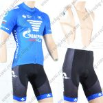 2018 Team GAZPROM COLNAGO Cycling Bib Kit Blue