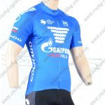 2018 Team GAZPROM COLNAGO Cycling Jersey Shirt Blue