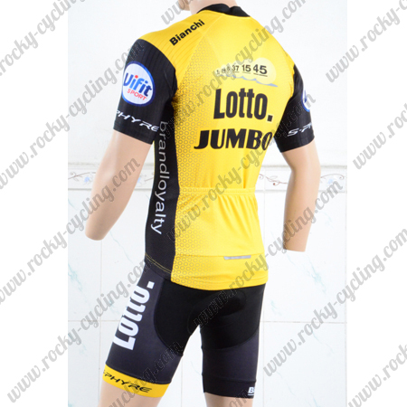 258389478 2018 Team LOTTO JUMBO Biking Outfit Summer Winter Cycle Jersey and ...