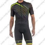 2018 Team PINARELLO Cycling Kit Black Green