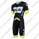 2018 Team QLE Cycling Skinsuit Black Green