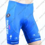 2018 Team QUICK STEP Cycling Shorts Bottoms Blue