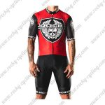 2018 Team ROCK RACING Cycling Kit Red Black