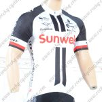 2018 Team Sunweb GIANT Cycling Jersey Shirt White Black