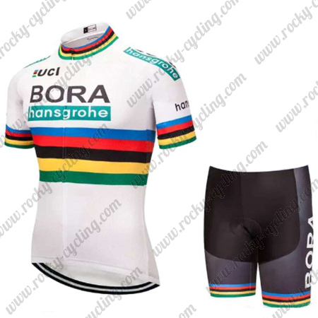 2018 Team BORA hansgrohe UCI Champion Biking Outfit Summer Winter ... 82772863d