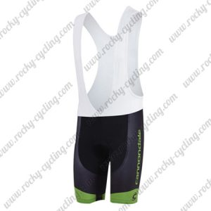 2018 Team Cannondale Cycling Bib Shorts Bottoms Black Green