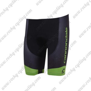 2018 Team Cannondale Cycling Shorts Bottoms Black Green