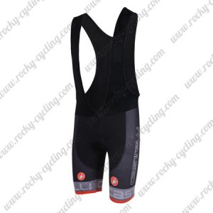 2018 Team Castelli Cycling Bib Shorts Bottoms Black