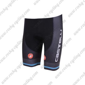 2018 Team Castelli Cycling Shorts Bottoms Black Blue