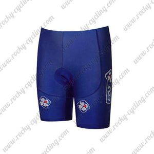 2018 Team FDJ Cycling Shorts Bottoms Blue
