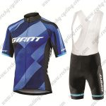 2018 Team GIANT Cycling Bib Kit Blue
