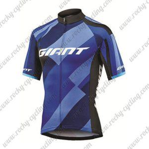 2018 Team GIANT Cycling Jersey Maillot Shirt Blue