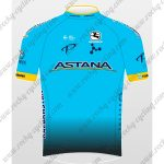 2018 Team ASTANA Cycling Jersey Maillot Shirt Blue