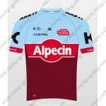 2018 Team Alpecin KATUSHA Cycling Jersey Maillot Shirt Blue Red