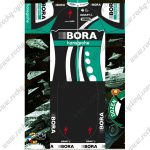 2018 Team BORA hansgrohe Cycling Kit Black Blue White