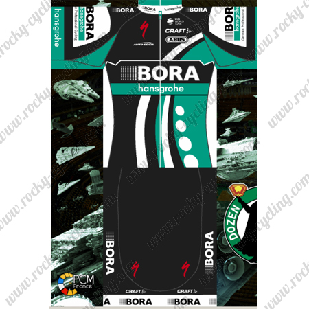 2018 Team BORA hansgrohe Riding Outfit Summer Winter Cycle Jersey ... 57ac9d009
