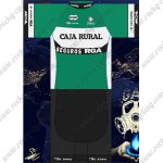 2018 Team CAJA RURAL Cycling Kit Green White