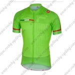 2018 Team Castelli Cycling Jersey Maillot Shirt Green