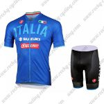 2018 Team ITALIA SUZUKI Cycling Kit Blue
