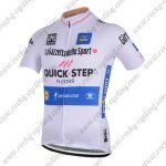 2018 Team QUICK STEP Tour de Italia Cycling Jersey Maillot Shirt White