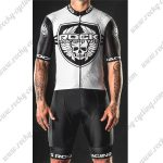 2018 Team ROCK RACING Cycling Kit White Black