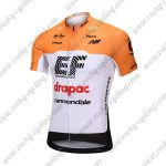 2018 Team drapac cannondale Cycling Jersey Maillot Shirt Yellow White