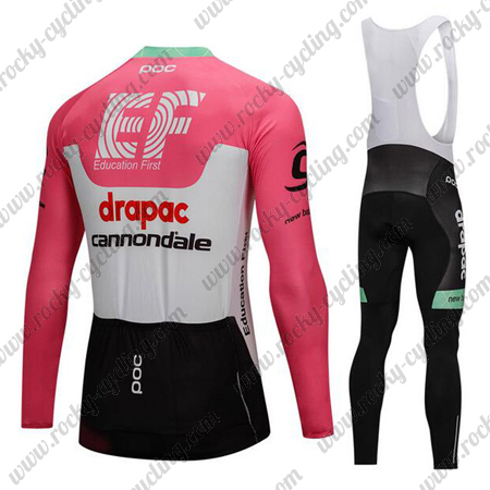 2018 Team drapac cannondale Cycle Outfit Riding Long Jersey and ... fdae9f410