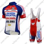 2015 Team ANDRONI Venezuela Cycling Bib Kit Blue Red White