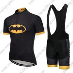 2017 BAT MAN Batman Cycling Bib Kit Black Yellow