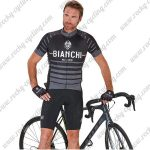 2017 Team BIANCHI Cycle Kit Black Grey