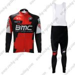 2017 Team BMC Cycling Long Bib Suit Red Black2017 Team BMC Cycling Long Bib Suit Red Black
