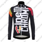 2017 Team Cinelli CHROME Biking Long Jersey Black