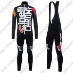 2017 Team Cinelli CHROME Cycling Long Bib Suit Black