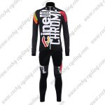 2017 Team Cinelli CHROME Cycling Long Suit Black