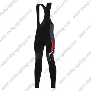2017 Team DUCATI CORSE Cycle Long Bib Pants Tights