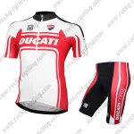 2017 Team DUCATI Racing Kit White Red