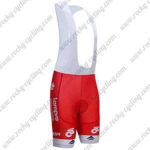 2017 Team Lampre MERIDA Cycling Bib Shorts Bottoms Red