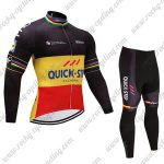2017 Team QUICK STEP Cycle Suit Black Yellow Red