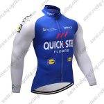 2017 Team QUICK STEP Cycling Long Jersey Blue White