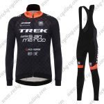 2017 Team TREK San Marco Cycling Long Bib Suit Black Yellow