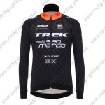 2017 Team TREK San Marco Cycling Long Jersey Black Yellow