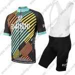 2018 Team BIANCHI Cycling Bib Kit Colorful