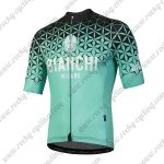 2018 Team BIANCHI Cycling Jersey Maillot Shirt Blue Black