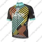 2018 Team BIANCHI Cycling Jersey Maillot Shirt Colorful