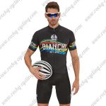 2018 Team BIANCHI Cycling Kit Black Colorful