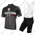 2018 Team BIANCHI MILANO Cycle Bib Kit Black