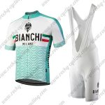 2018 Team BIANCHI MILANO Cycle Bib Kit Blue White
