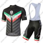 2018 Team BIANCHI MILANO Italy Racing Bib Kit Black