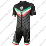 2018 Team BIANCHI MILANO Italy Racing Kit Black